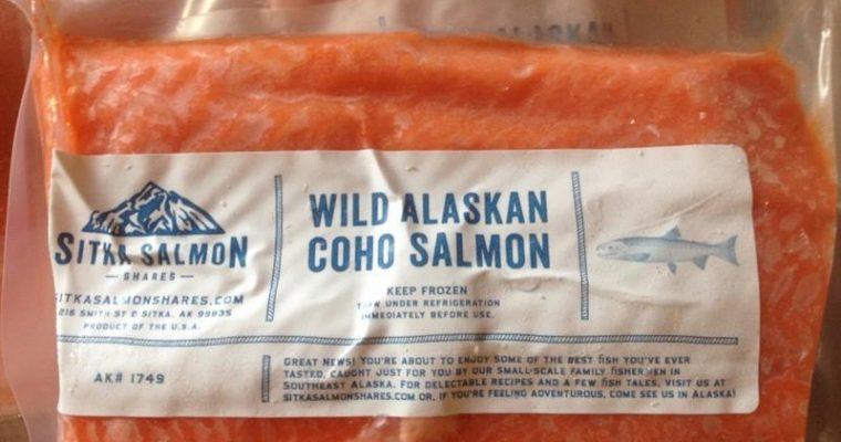 Sitka Coho Salmon