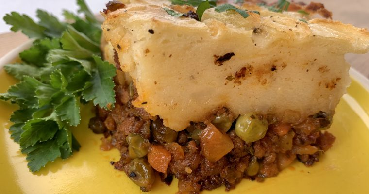 A Very Vegetable Shepherd's Pie
