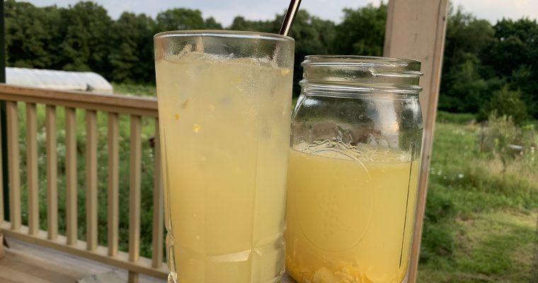 Real Lemonade with Local Honey